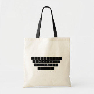 Write On - Tote Bag - Gifts for Aspiring Writers