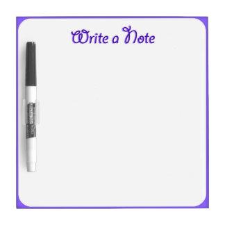 Write Right Here Dry Erase Board