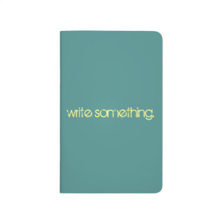 Write Something notebook
