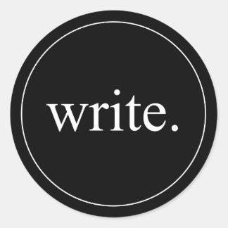 Write Sticker