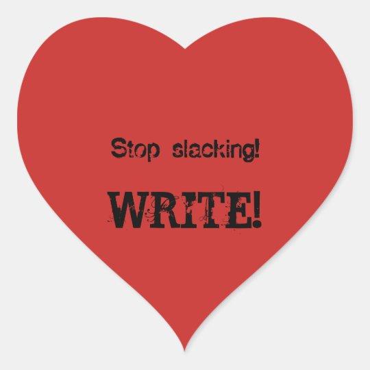 WRITE! stickers