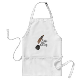 Write Wrongs Standard Apron