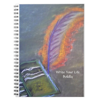 Write Your Life Boldly notebook