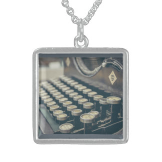 Write  your story sterling silver necklace