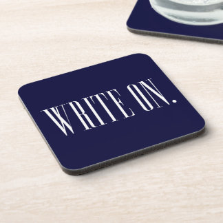 WriteOn1Blk.png Drink Coaster