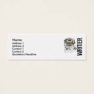 Writer Alchemy Mini Business Card