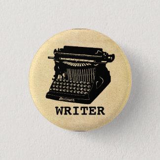 Writer Antique Typewriter 1 Inch Round Button