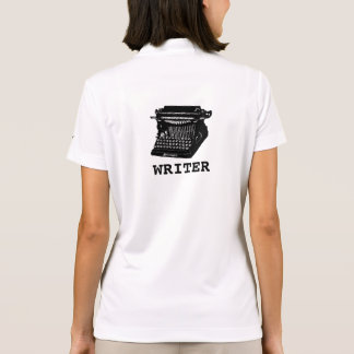 Writer Antique Typewriter Polo Shirt