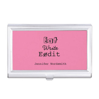 Writer Author Journalist Funny Personalized Case