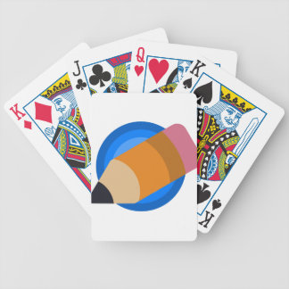 Writer Bicycle Playing Cards