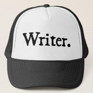 Writer (black lettering) trucker hat