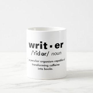"""writer"" definition coffee mug"