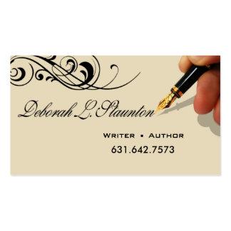 Writer Editor 1 Stylish Creative for Deborah Pack Of Standard Business Cards
