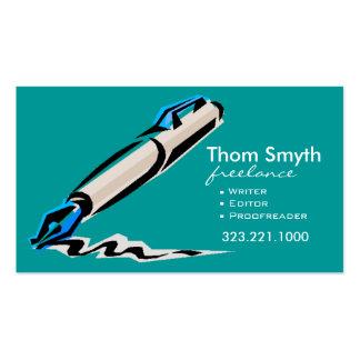 Writer Editor 4 Stylish Creative Business Cards