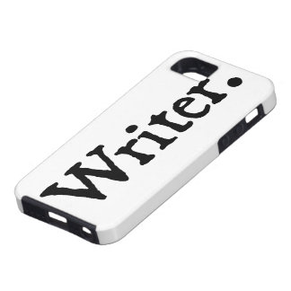 Writer. iPhone 5 Cover