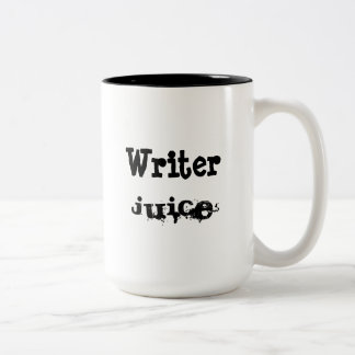 Writer Juice Two-Tone Coffee Mug