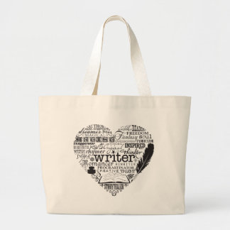 Writer Large Tote Bag