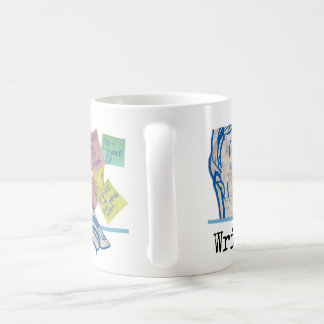 """Writer Madness"" Movie Mug"