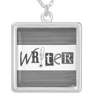 """WRITER"" Necklace"