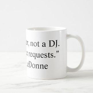 Writer Not A DJ mug