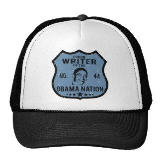 Writer Obama Nation Mesh Hats