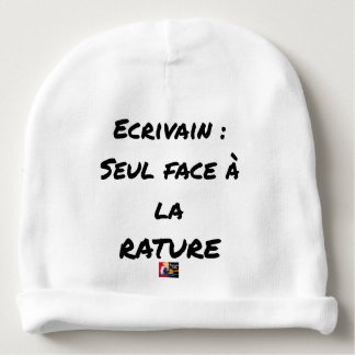 WRITER? ONLY VIS-A-VIS the ERASURE - Word games Baby Beanie