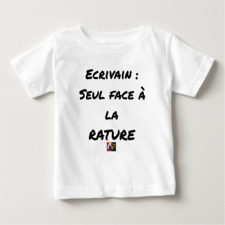 WRITER? ONLY VIS-A-VIS the ERASURE - Word games Baby T-Shirt