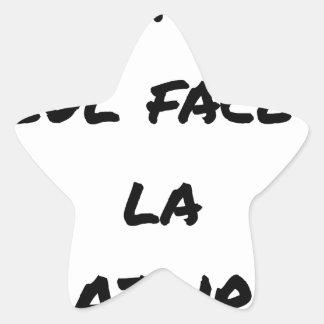 WRITER? ONLY VIS-A-VIS the ERASURE - Word games Star Sticker