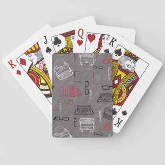 Writer Poker Deck