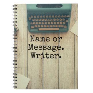 Writer Spiral Notebook