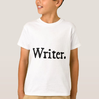Writer. T-Shirt