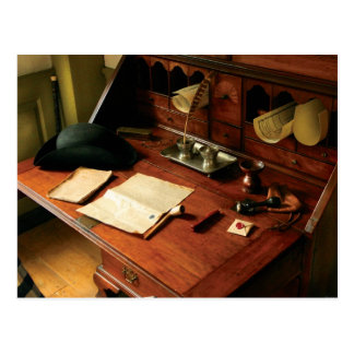 Writer - The desk of a gentleman Postcard