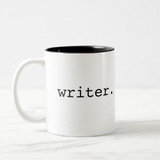 Writer Two-Tone Coffee Mug