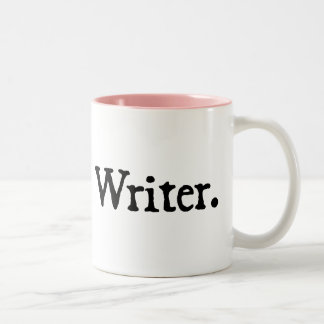 Writer. Two-Tone Coffee Mug