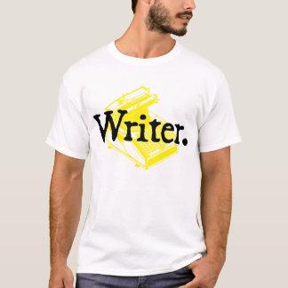 Writer. With Type Writing Machine T-Shirt