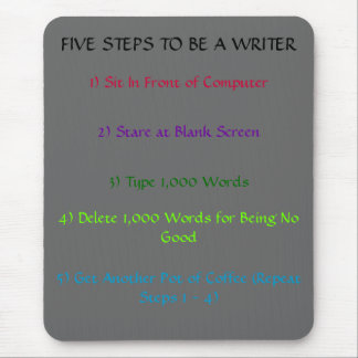 Writer's 5-Steps Mousepad