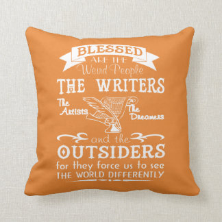 Writers, Artists, Dreamers Throw Pillow