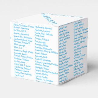 Writer's block favor box