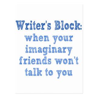 Writers Block: Postcard