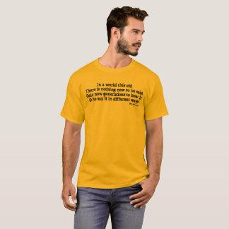 Writers Burden -Mens T-Shirt