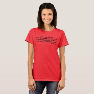 Writers Burden - Womens T-Shirt