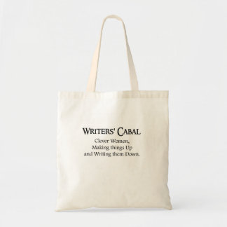 Writers Cabal Tote Bag