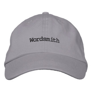 Writer's cap embroidered hats