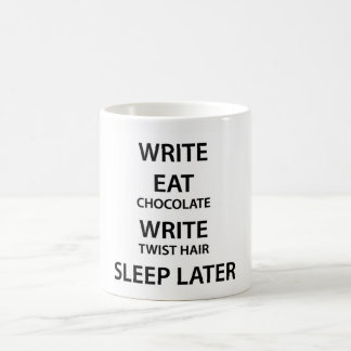 Writer's Deadline coffee mug