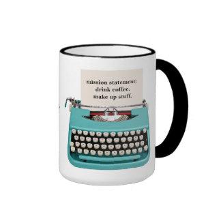 Writer's Mug - Drink Coffee - Make Up Stuff