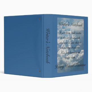 Writer's Notebook - Henry David Thoreau Vinyl Binders
