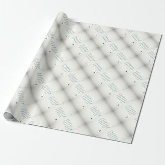 writers Quote Wrapping Paper