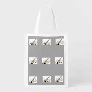 Writers Reusable Mail Bag Market Totes