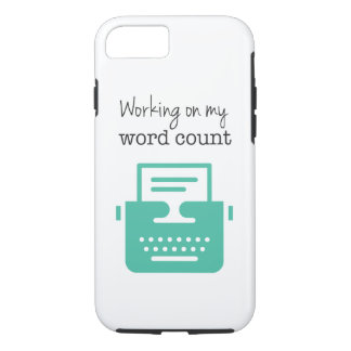 Writers | Word Count | iPhone 7 Case