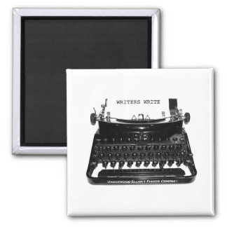 Writers Write Typewriter Magnet